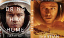 The Martian (2015) R0 Custom DVD Cover