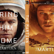 The Martian (2015) R0 Custom DVD Cover