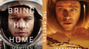 the martian dvd cover