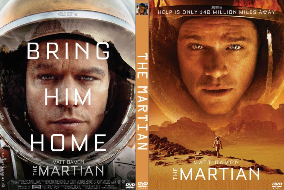 the martian dvd cover