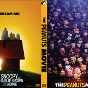 The Peanuts Movie (2015) Custom DVD Cover