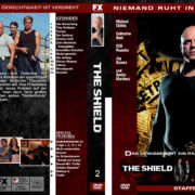 The Shield – Staffel 2 (2003) R2 german custom