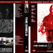 The Shield – Staffel 5 (2006) R2 german custom