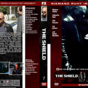 The Shield – Staffel 7 DVD Cover (2008) R2 german custom