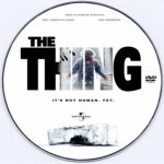 The Thing (2011) R0 Custom Label