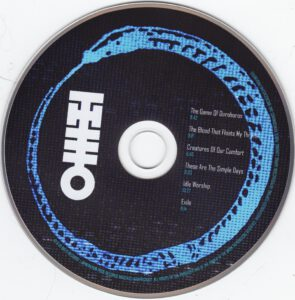 Theo - The Game of Ouroboros - CD