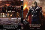 Thor: Ragnarok (2017) R0 Custom Dvd Cover