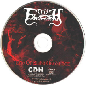 Thy Flesh Consumed - End Of Blind Obedience - CD
