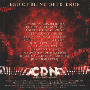 Thy Flesh Consumed - End Of Blind Obedience - Inside