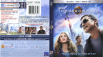 Tomorrowland (2015) R1 Blu-Ray DVD Cover & Label
