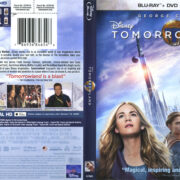Tomorrowland (2015) R1 Blu-Ray DVD Cover & Label