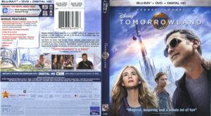 Tomorrowland blu-ray dvd cover