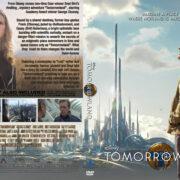 Tomorrowland (2015) R0 Custom Cover & Label