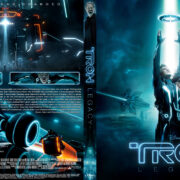 Tron Legacy (2010) Blu-Ray DVD Cover (german) Custom