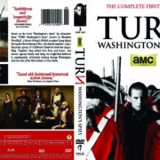 Turn: Washington's Spies: Season 1 (2014) R1 DVD Cover