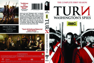 Turn: Washington's Spies - Season 1 dvd cover