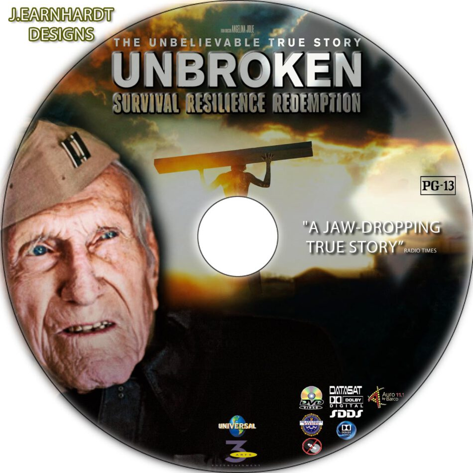 unbroken dvd label