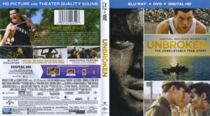 Unbroken blu-ray dvd cover