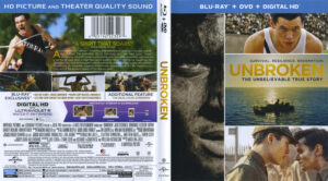 Unbroken blu-ray dvd cover