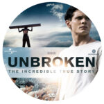 Unbroken (2014) R0 Custom DVD Label