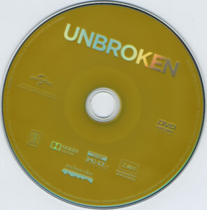 Unbroken dvd label