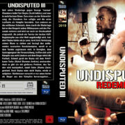 Undisputed 3 (2010) R2 Custom Blu-Ray DVD Cover (German)