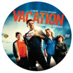 Vacation (2015) R0 Custom Label