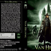 Van Helsing (2004) Blu-Ray DVD Cover (german)