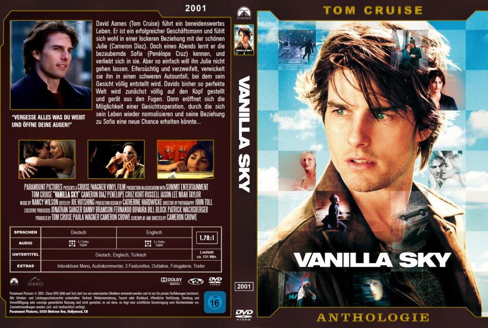 Vanilla Sky Dvd Cover 2001 German Custom