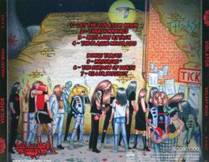 Violator - Violent Mosh (EP) - Back