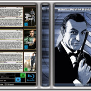 Ultimate James Bond Collection Blu-Ray DVD Covers (German)
