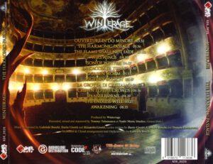 Winterage - The Harmonic Passage - Back
