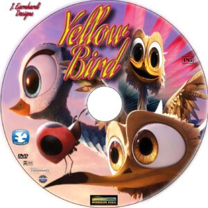 yellow bird dvd label