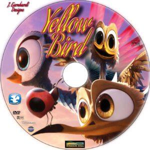 yellow bird dvd label