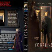 You 're Next (2013) WS R1 CUSTOM DVD Cover
