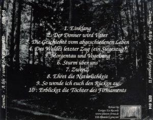 ZwenZ - A Life's Work Of Natrgaard II - Back