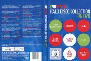 ZYX Italo Disco Collection on DVD - Cover