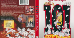 101 Dalmations (Original) dvd cover