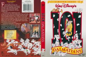 101 Dalmations (Original) dvd cover