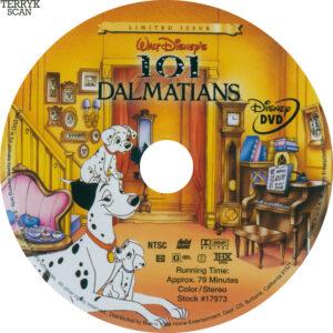 101 Dalmations (Original) Label