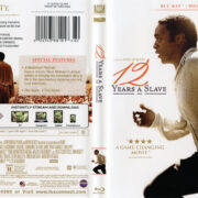 12 Years A Slave (2013) R1 Blu-Ray DVD Cover