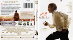 12 Years a Slave blu-ray dvd cover