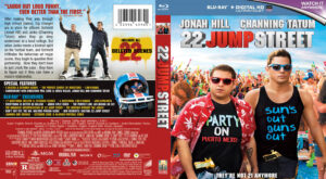 22 Jump Street blu-ray dvd cover