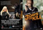 3 Days To Kill (2014) R1 CUSTOM DVD COVER
