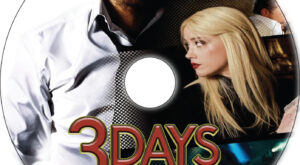 3 Days to Kill dvd label