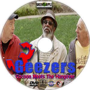 3 Geezers! cd cover