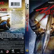 300: Rise of an Empire (2014) R1 Blu-Ray DVD Cover