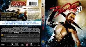 300: Rise of an Empire 3d blu-ray dvd cover