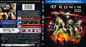 47 ronin 3D blu-ray dvd cover