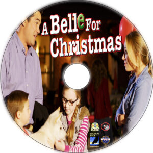 A Belle for Christmas dvd labek